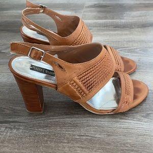 White House Black Market Wood Heel Shoes